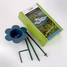 Picture of Blue petal bird feeder