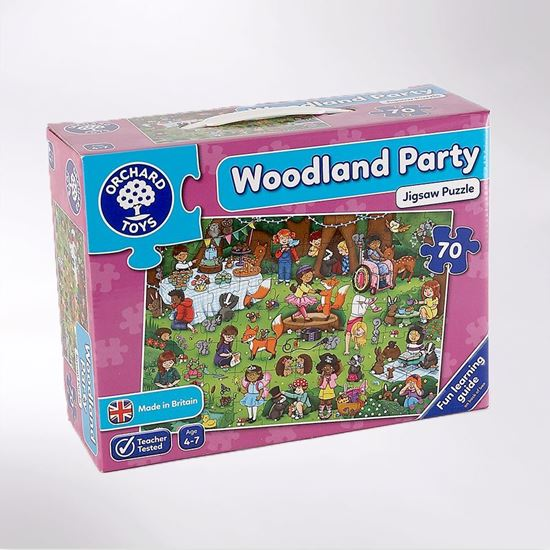 Picture of Woodland Party jigsaw