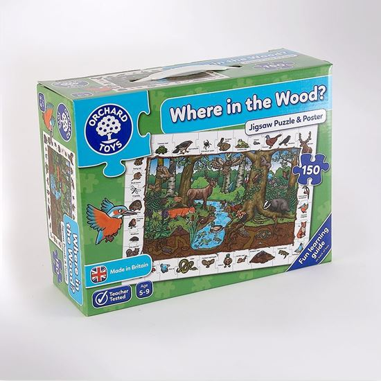 Picture of Where in the Woods? jigsaw