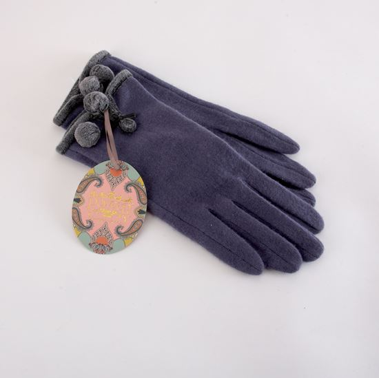 Picture of Betty navy gloves