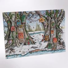 Picture of Woodland Trust advent calendar - Christmas woodland mice