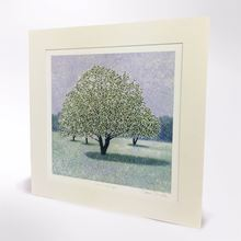 Picture of Susan Entwistle snow crab apple print