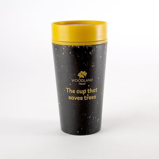 Woodland Trust rCUP black and mustard