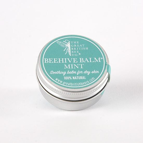 100% preservative free mint beehive balm