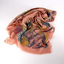 Large countryside animals scarf