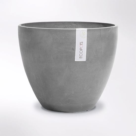 Antwerp Ecopot made from recycled plastic and crushed stone