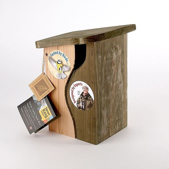 Simon King Curve cavity nestbox perfect for a variety of small birds