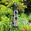 Giant seed bird feeder with 8 ports