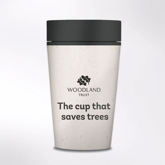 rCUP Eco & Recycled Reusable Coffee Cup - Woodland Trust