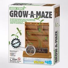 Grow-a-maze - plant a bean and watch it grow!