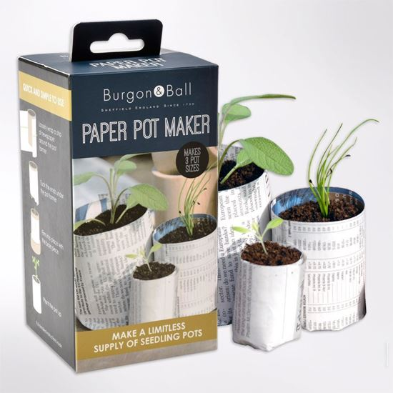 Make your own pots from recycled paper with this Paper Pot Maker