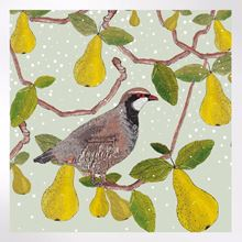 Partridge in a pear tree Christmas cards