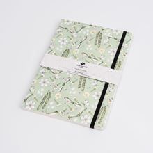 Woodland Trust catkins  A5 notebook with elasticated belly band