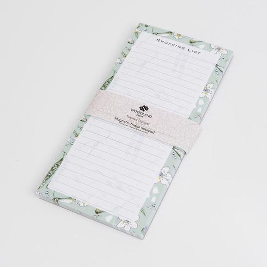 Woodland Trust list pad catkins design